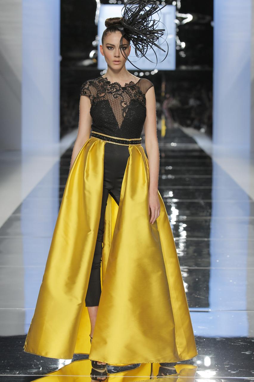 Vestido para 2018 de Sonia Peña. Imagen: Barcelona BridalFashionWeek.