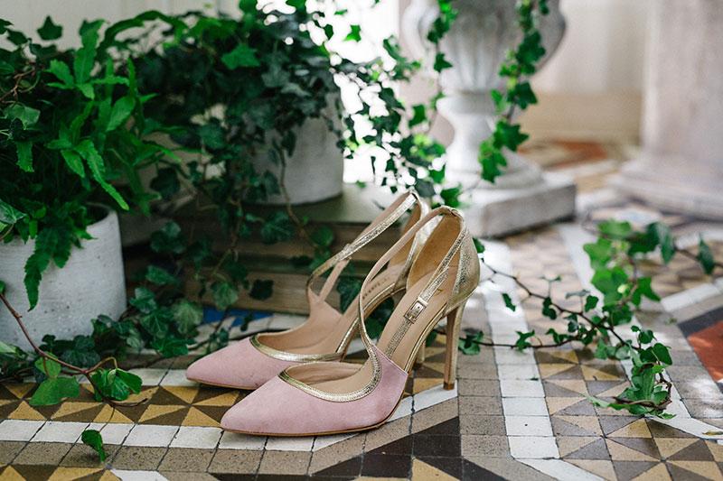 Zapatos de fiesta de Doriani.