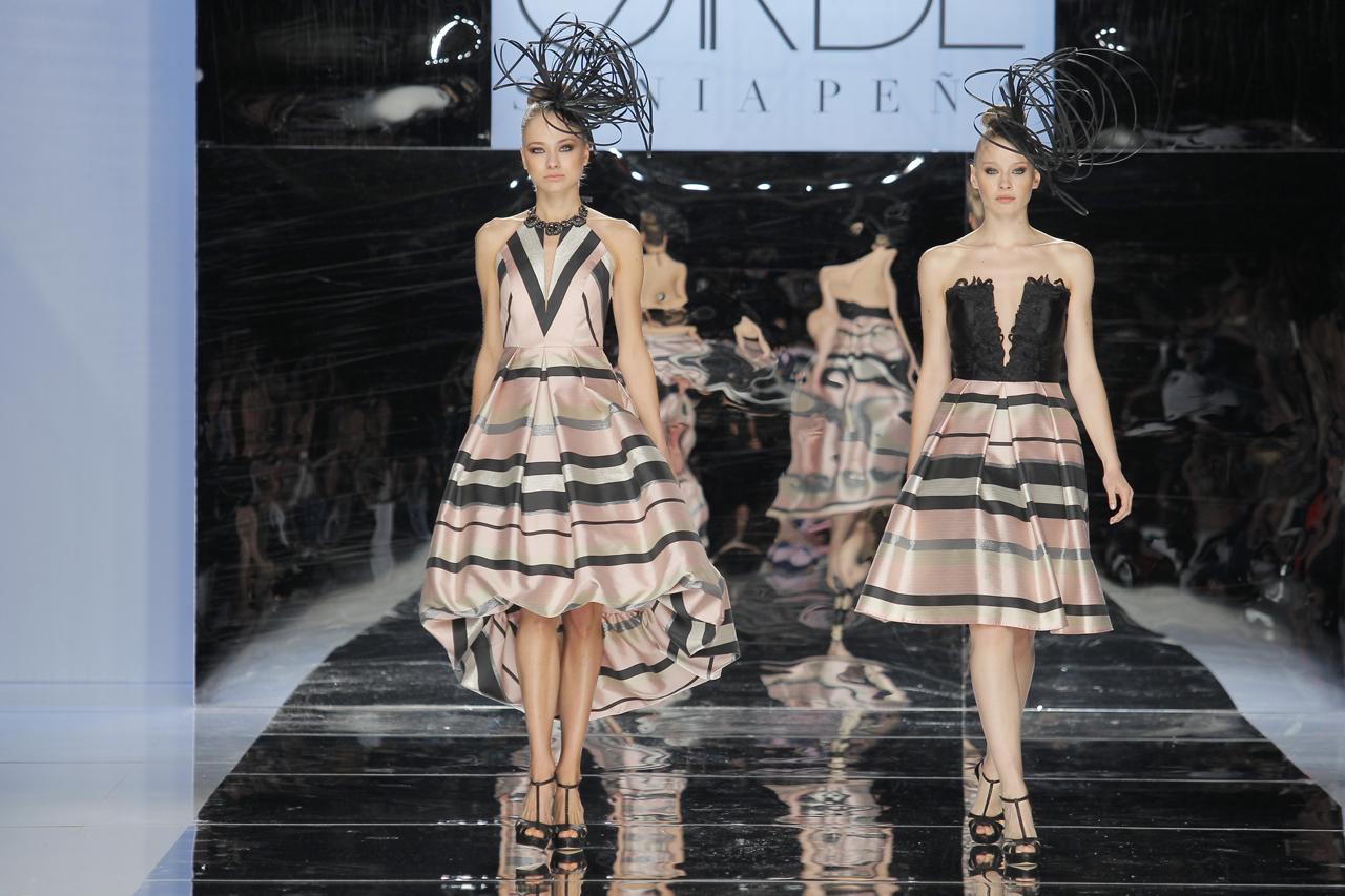 Diseños para 2018 de Sonia Peña. Imagen: Barcelona Bridal Fashion Week.