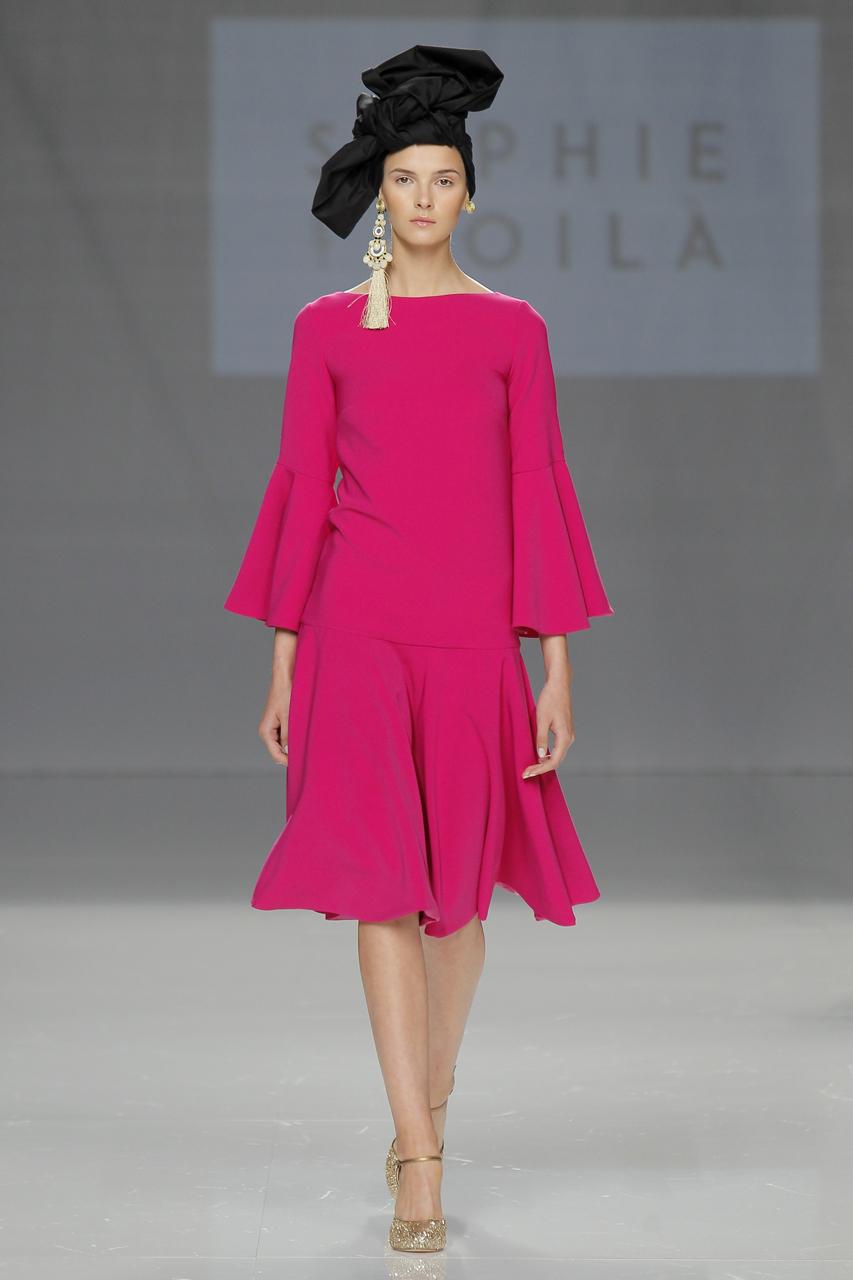 Diseños de Sophie et Voilà. Imagen: Barcelona Bridal Fashion Week