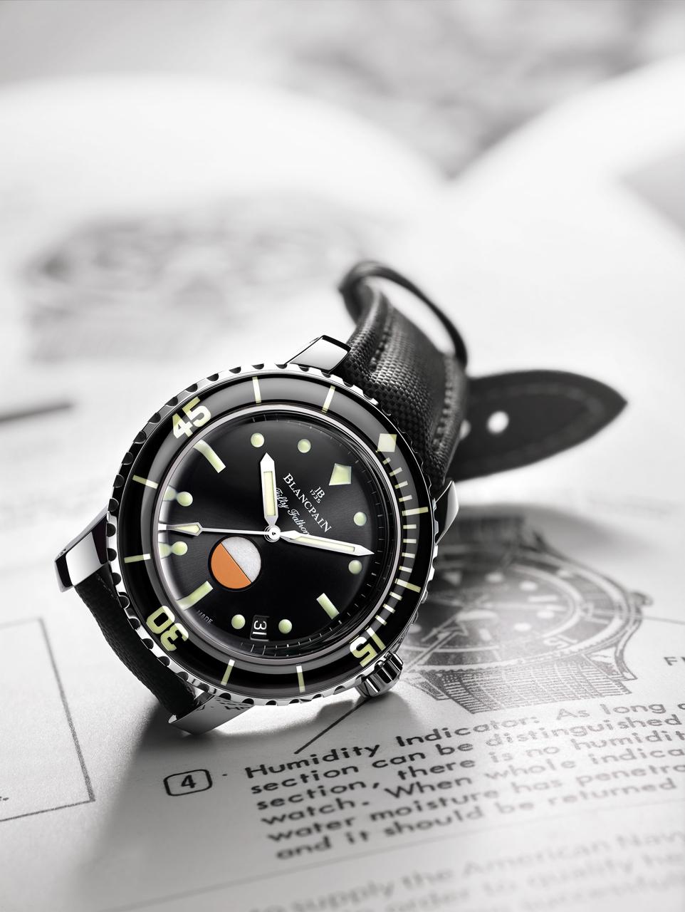 Reloj Blancpain para novios.