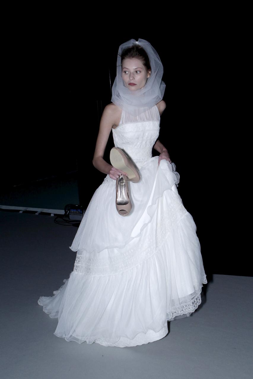 Imágenes del backstage de Barcelona Bridal Fashion Week. Imagen: Barcelona Bridal Fashion Week