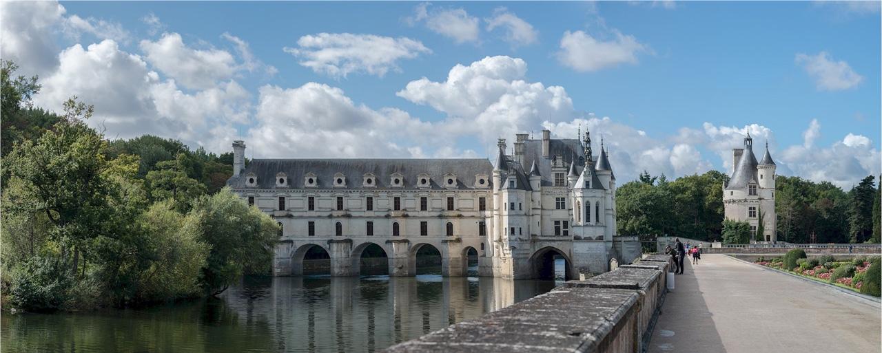 Castillo de Chenonceau.