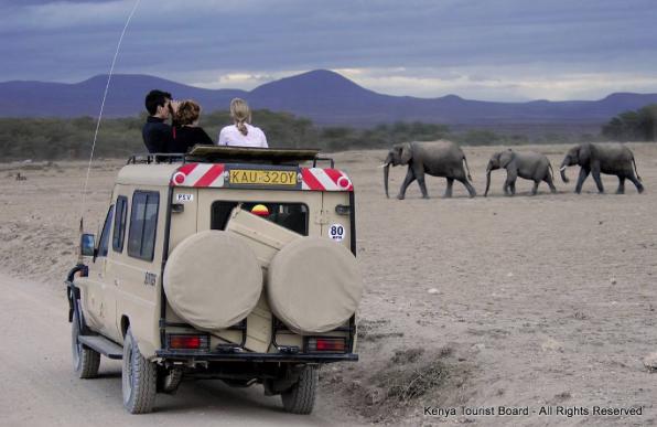 Turismo de Kenia.
