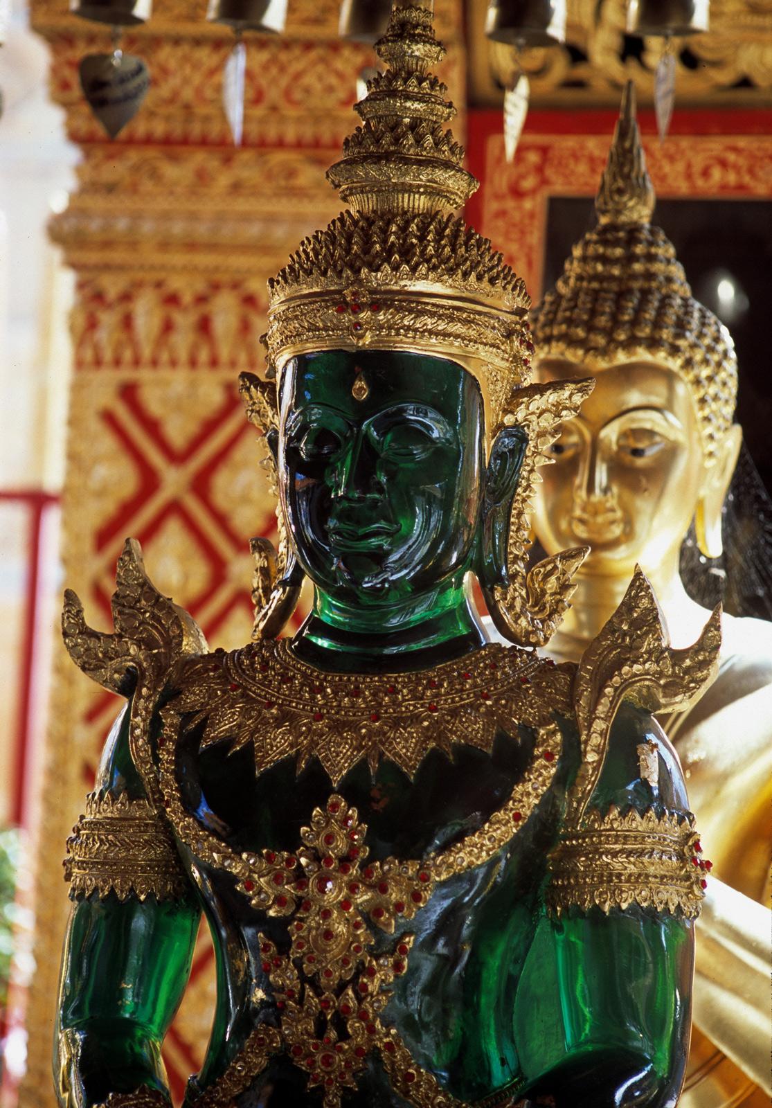 Imagen del Buda Esmeralda. Turismo de Tailandia