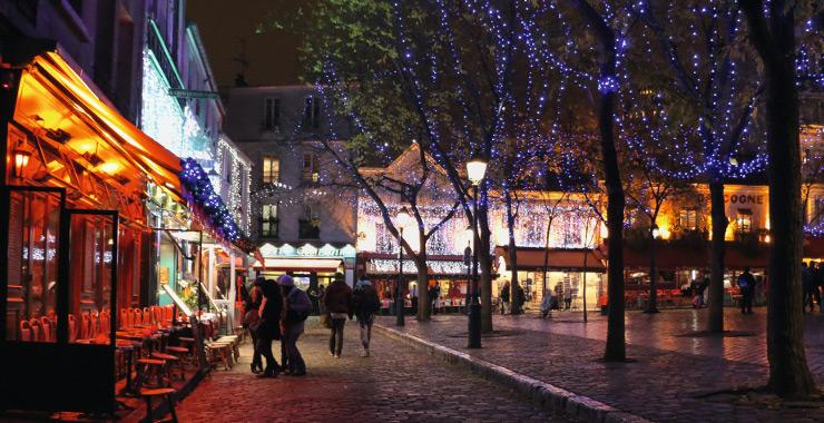 Barrio de Montmatre, París. Imagen de la Oficina de Turismo de París.
