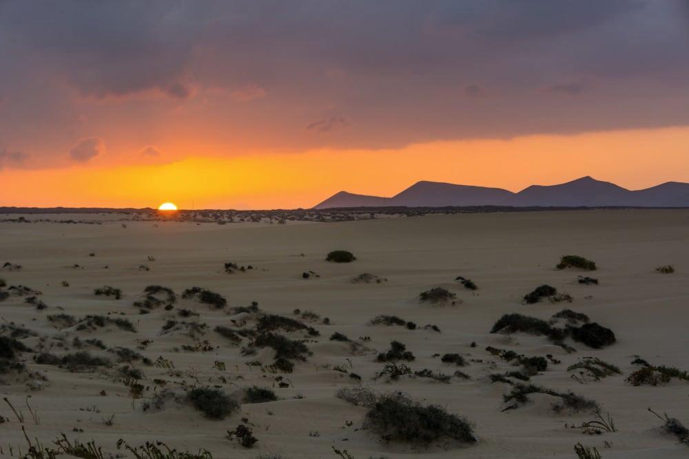 Parque Natural Dunas de Corralejo, Fuerteventura. Turismo de Canarias.
