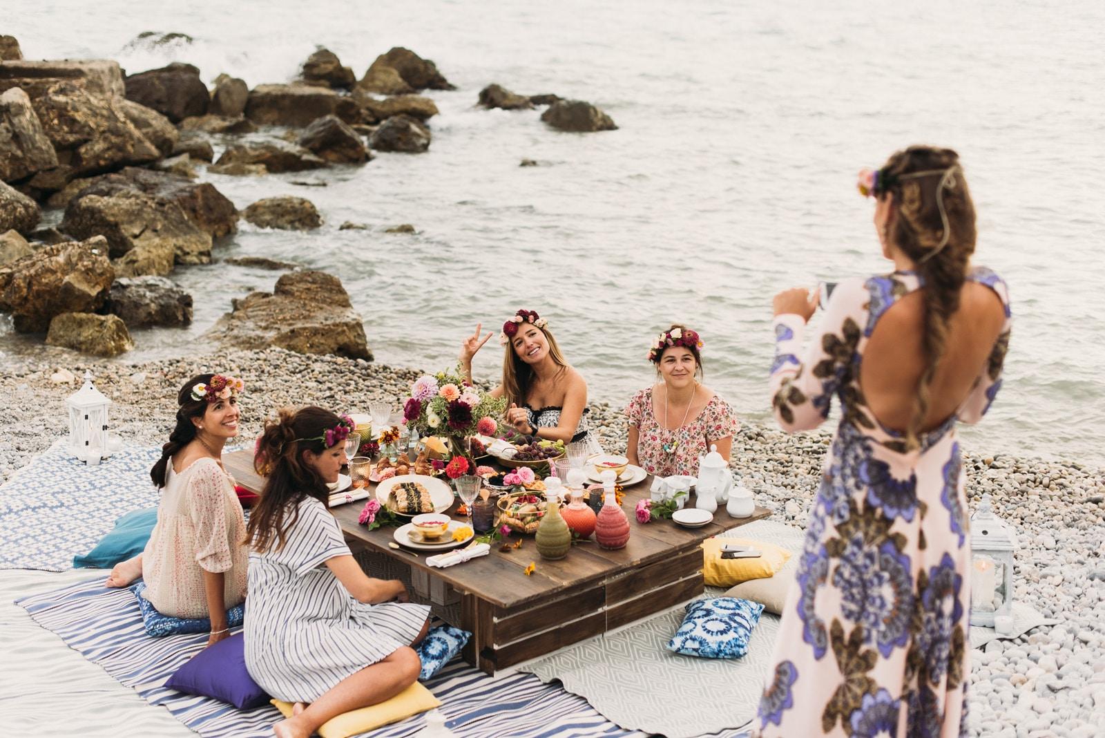 Bridal party de Miss Cavallier: Fotografía de La Dichosa. Organización y decoración de Sí, Te Requetequiero