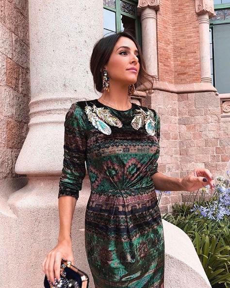 Rocío Osorno con diseño de Sweet Matitos.