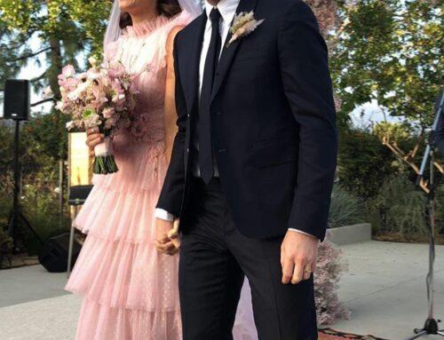 ¡Alerta novias! Las famosas se casan de rosa