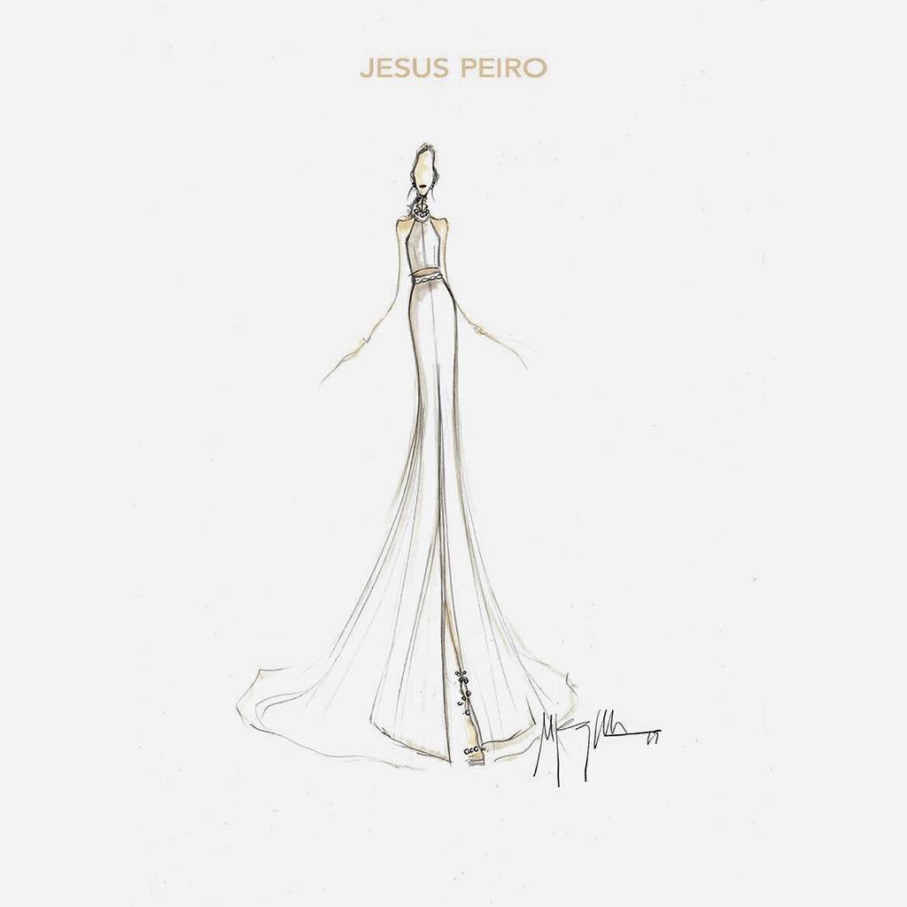 BOCETO SEGUNDO VESTIDO JESUS PEIRO
