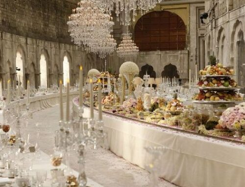 Conoce el lujo de las bodas más elegantes
