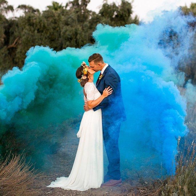 Bodas de color azul: es tiempo de estar azul-ado