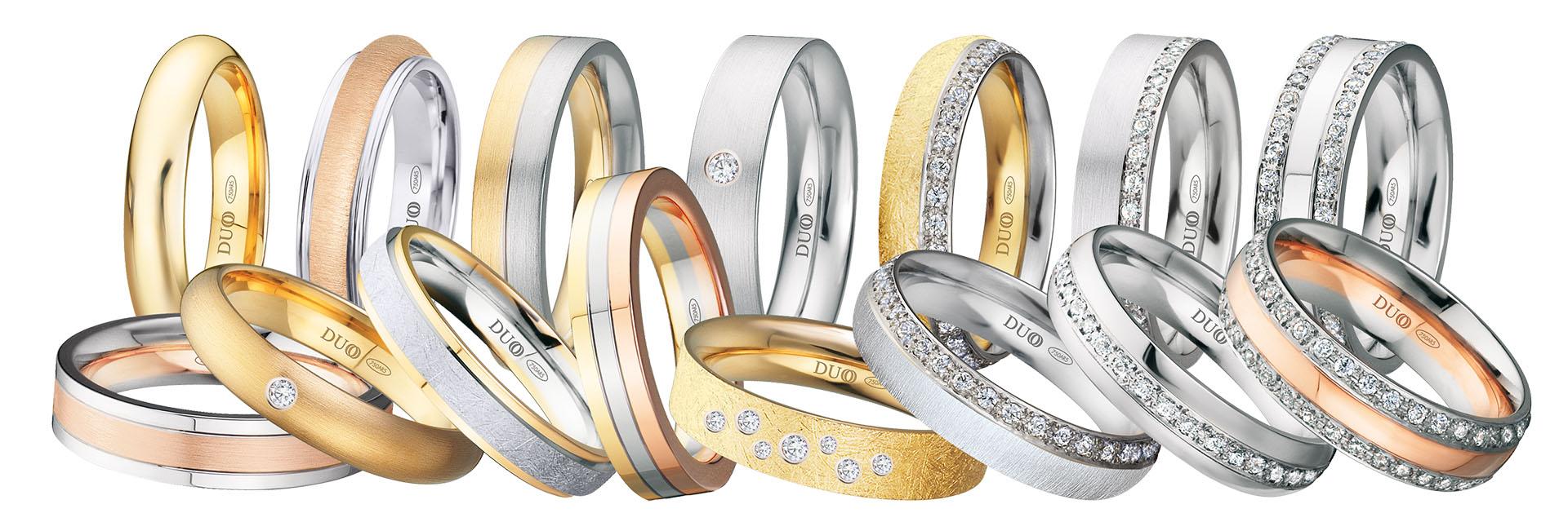 Alianzas de boda y anillos de matrimonio