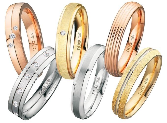 alianzas de boda originales y anillos de boda modernos